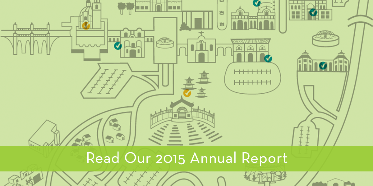 2015 Annual Report Banner