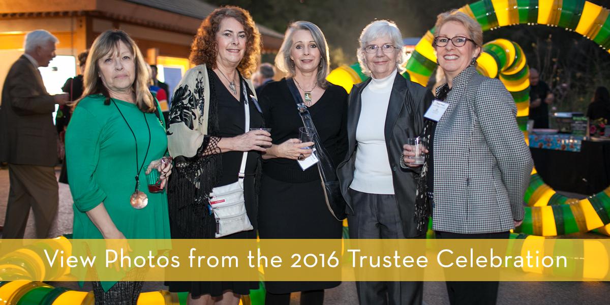 Trustee Celebration banner