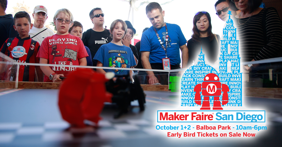 Maker Faire San Diego 2016 Event